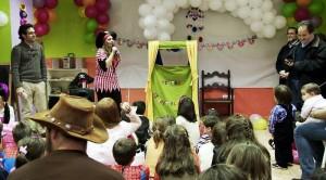 Animaciones de fiestas infantiles en Madrid