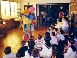 Magos y payasos infantiles a domicilio Madrid