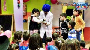 Animaciones de fiestas infantiles en Madrid a domicilio