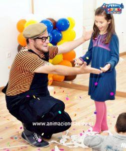Animación de fiestas infantiles en Madrid
