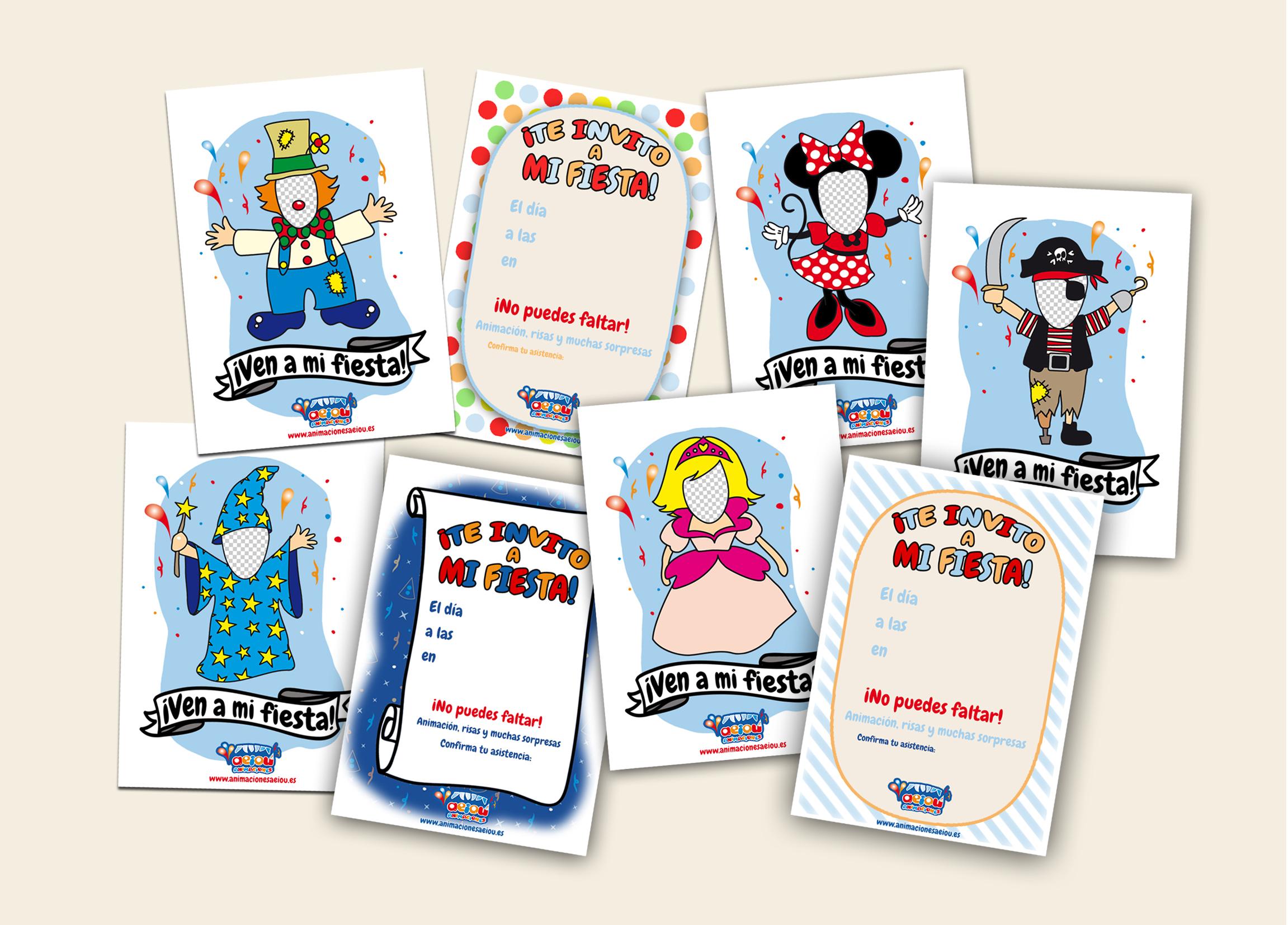 Descargar invitaciones para fiestas infantiles gratis - Ideas originales para una fiesta ...
