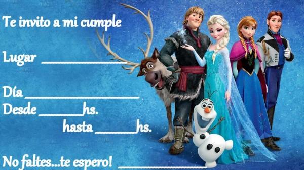 Fiesta temática de Frozen en Madrid