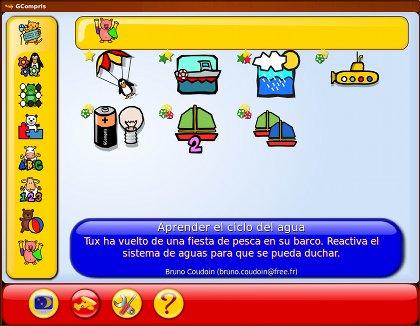 Software educativo GCompris