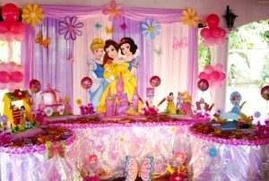 Fiesta de princesa disney