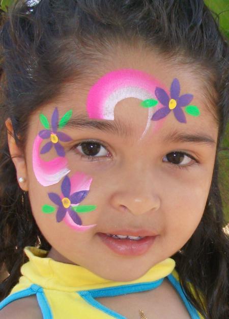 Maquillaje para cumplea os - Pinturas de cara para ninos ...