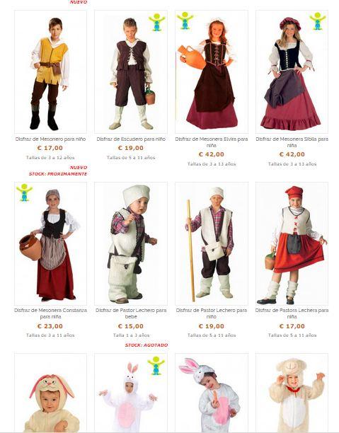 Disfraces infantiles de navidad - Disfraces infantiles navidad ...