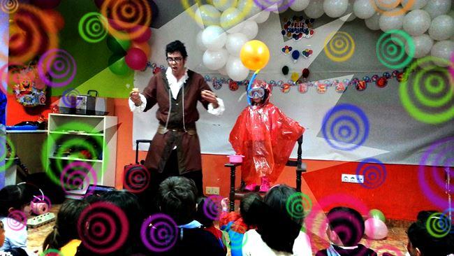 fiestas infantiles para carnaval en madrid