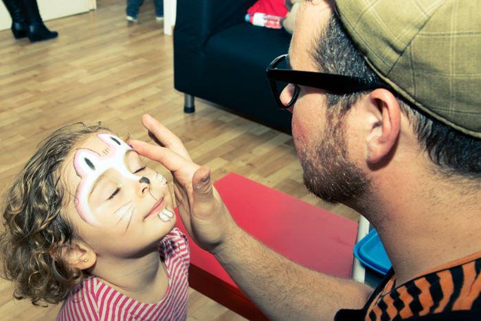 Maquilladores para fiestas de cumpleaños infantiles en Madrid
