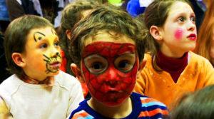 5 maquillajes infantiles de superheroes