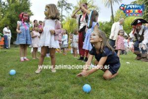 fiestas infantilees con gymkana para niños