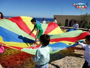 fiestas infantiles con gymkana para niños