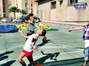 Juegos infantiles fiestas verano