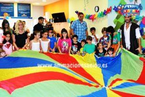 Juegos infantiles para fiestas de verano