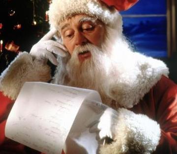 Divertida Carta de un niño a Papá Noel