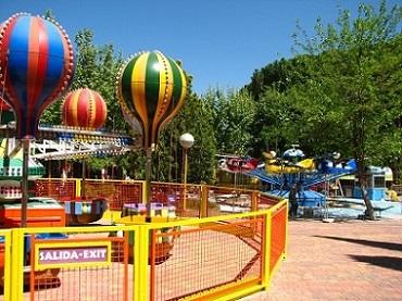 Parque de atracciones para niños en Madrid