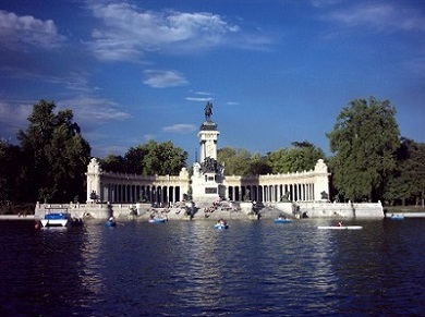 'Parque del Retiro en Madrid para niños