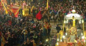 Cabalgata de los Reyes en Madrid 2016