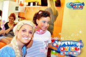 Tipos de maquillajes infantiles de princesa