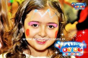 maquillajes infantiles de princesa