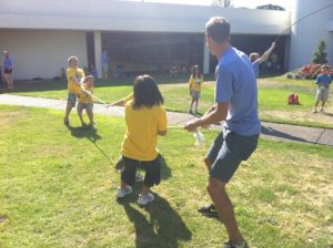 Juegos de fuerza para grandes grupos la cuerda
