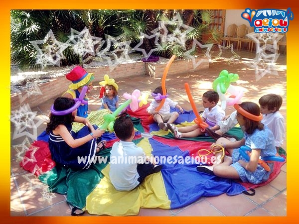 La organización completa de la mejor fiesta infantil