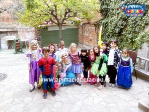 animación cumpleaños infantiles madrid