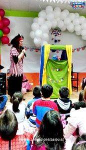 Sorprende a los niños del cumpleaños con un espectáculo de titeres