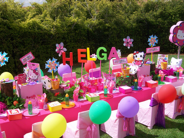 ideas para decorar una fiesta infantil para nios de y aos