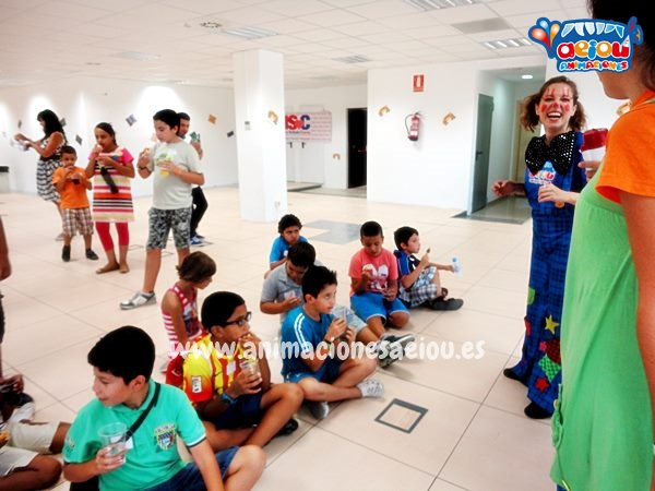 Animaciones infantiles para bodas y bautizos en Madrid