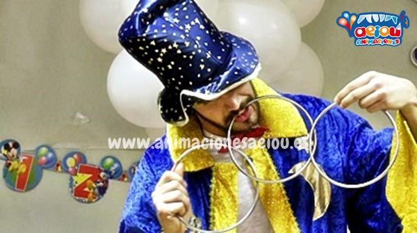 Como elegir el mejor mago a domicilio para cumpleaños