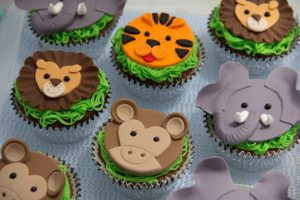 7 ideas cupcakes temático para cumpleaños infantiles
