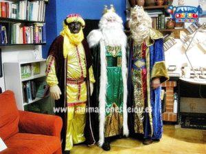 Contratar visita de reyes magos domicilio madrid