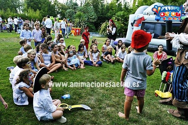 Animadores para fiestas de cumpleaños infantiles de la patrulla canina en Madrid
