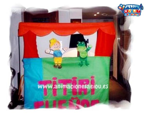 Contratar una empresa de animacion infantil para bautizo en Madrid