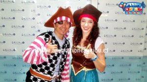 Decoración para fiestas piratas