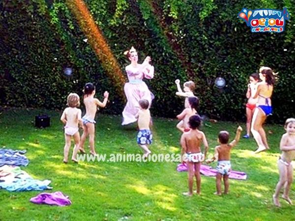 El agua y las fiestas infantiles diferentes