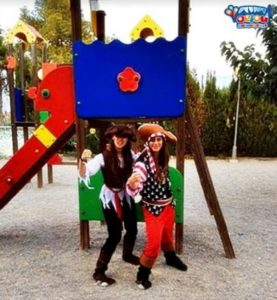 Fiesta de cumpleaños pirata en Madrid