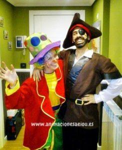 Juegos piratas para niños en Madrid