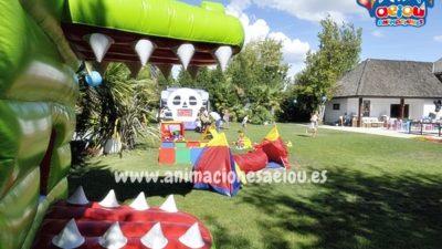 Ideas para hacer un cumpleaños infantil al exterior