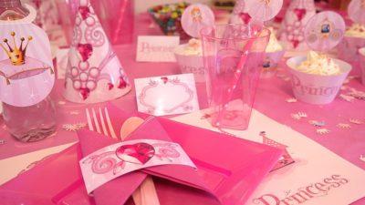 Decoración para fiestas de princesas en Madrid