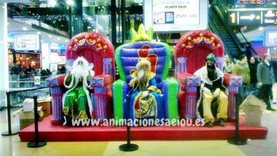 Cómo contratar a los Reyes Magos en Madrid a domicilio