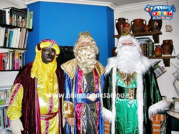 Contratar a los mejores Reyes Magos en Madrid