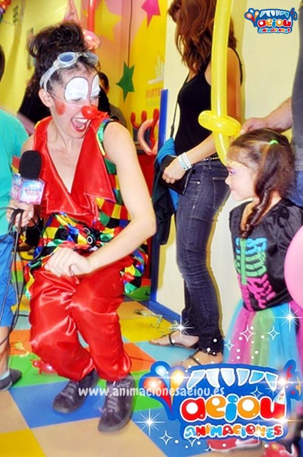Animadores para fiestas infantiles en Alalpardo