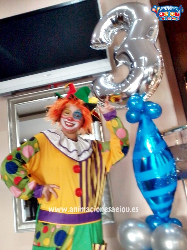 Payasos para fiestas infantiles en Alalpardo