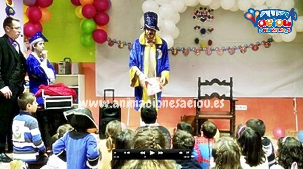 Animadores y fiestas infantiles en Alcorcón