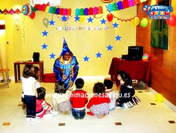 Magos para fiestas infantiles en Colmenar Viejo