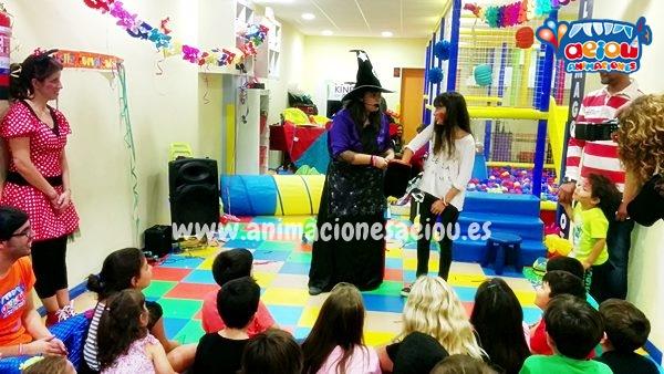 Animadores, magos y payasos infantiles en Rivas-Vaciamadrid