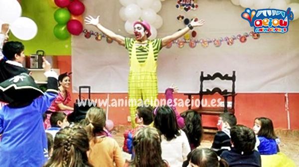 Animadores, magos y payasos infantiles en San Sebastián de los Reyes