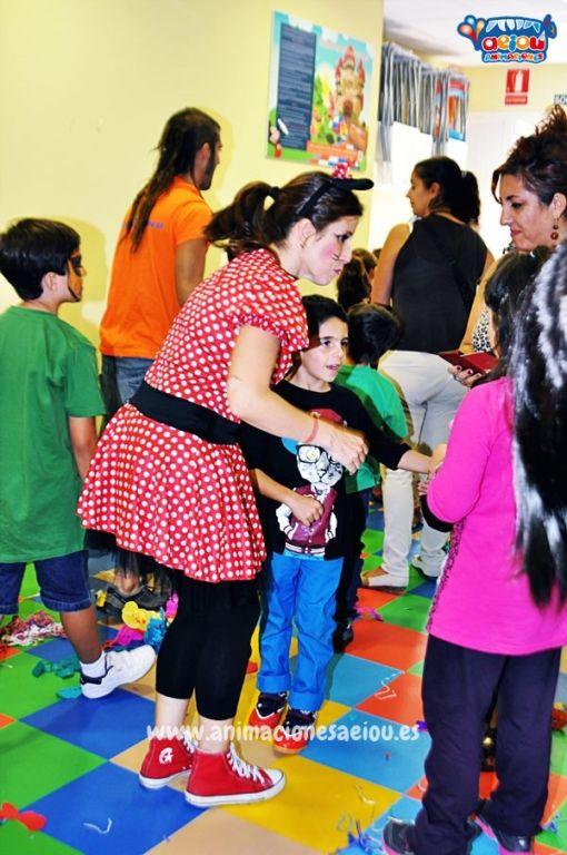 Animación de cumpleaños infantiles en Alcalá de Henares