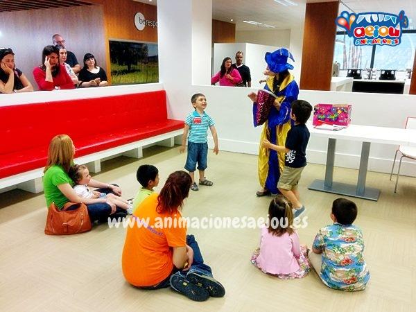 Animación de cumpleaños infantiles en Getafe